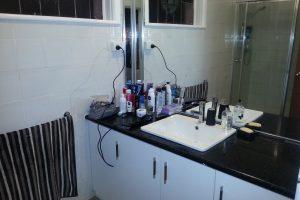Schicksal - Badezimmer in der Wohnung in Toorak