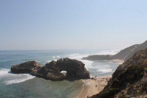 Strandabschnitt von Sorrento
