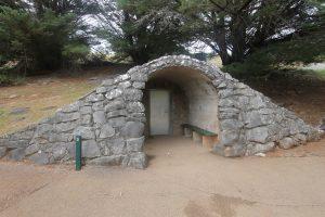 Eingang zu der Tropfsteinhöhle Buchan Caves
