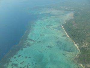 Luftaufnahme über Karimunjawa – Indonesien
