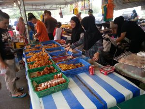 Food Market in Brunei