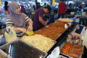 Verkauf von Essen in Brunei