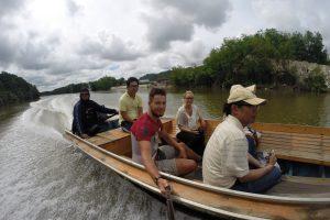 Bootstour auf dem Brunei River