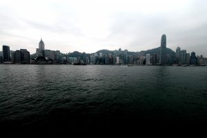 Hong Kong Skyline am Tag