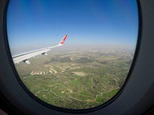 Im Landeanflug auf Tel Aviv