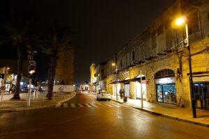 Tel Aviv – Nächtliche Beleuchtung