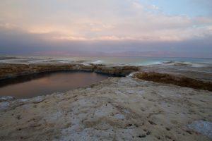 Farbspiele am Toten Meer
