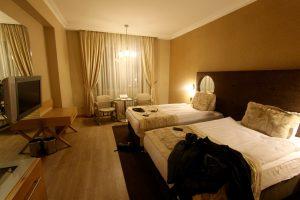 Hotelzimmer gesponsort by Turkish Airlines