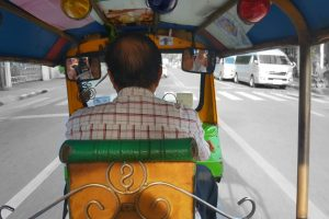 Tuk-Tuk-Fahrt in Bangkok