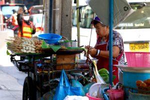 Streetfood-Wagen Bangkok