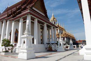 Ein schöner Tempel im Herzen Bangkoks