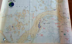 Karten zur Orientierung auf Palau