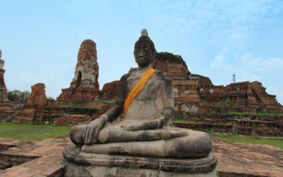 Tempelruinen Ayutthaya