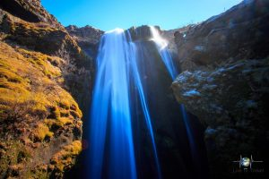 Wasserfälle - Gljúfrabúi
