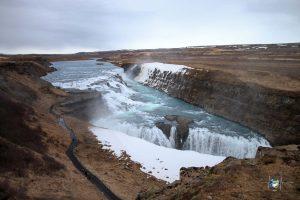 Wasserfälle - Gulfoss