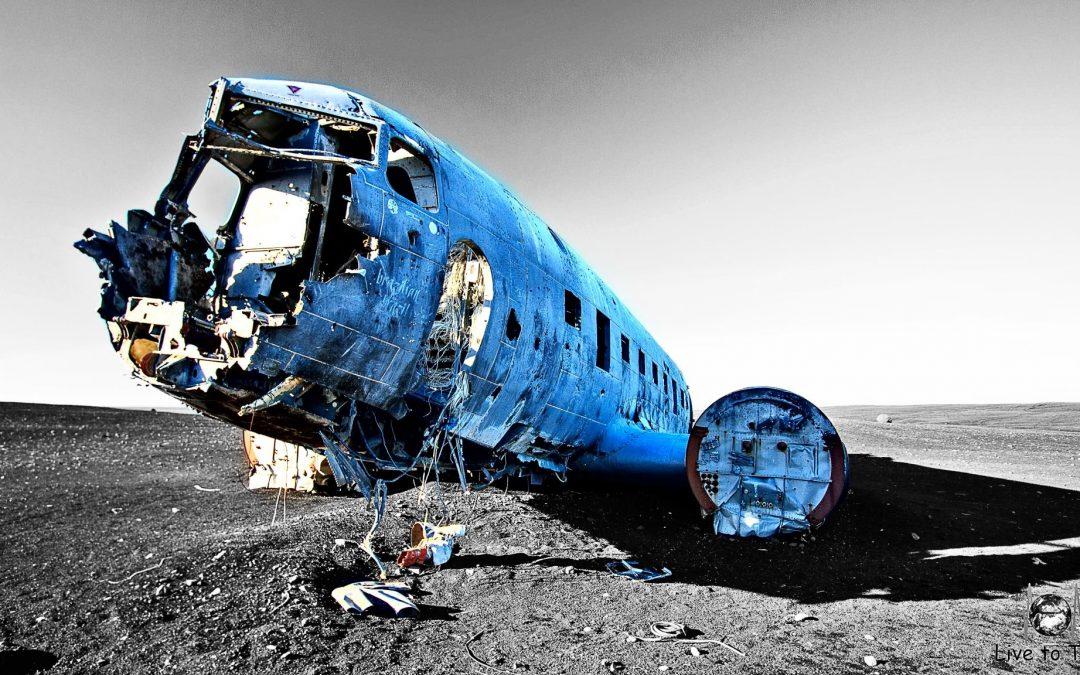 Das Flugzeugwrack von Solheimasandur