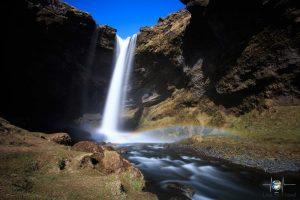 Wasserfälle - Kvernufoss
