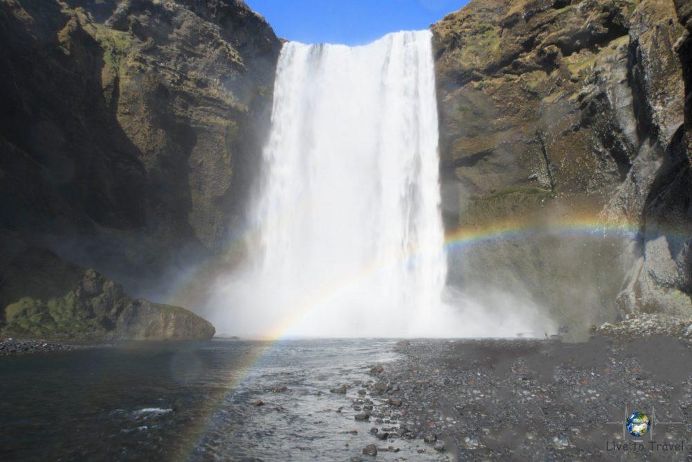 Wasserfälle - Skogafoss