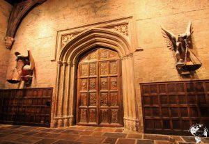 London - Eingangstür zur Speisesaal von Hogwarts