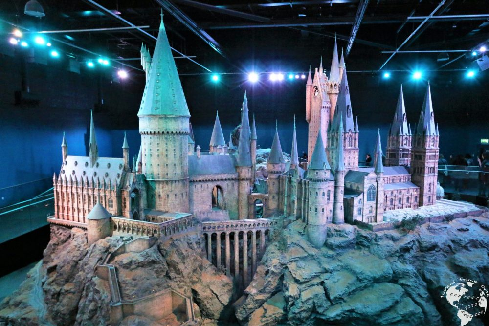 London - Modell Schloss Hogwarts