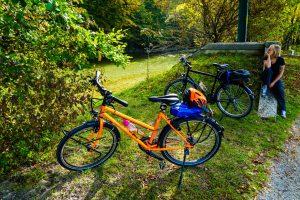Fahrrad Probefahrt Chiemgau