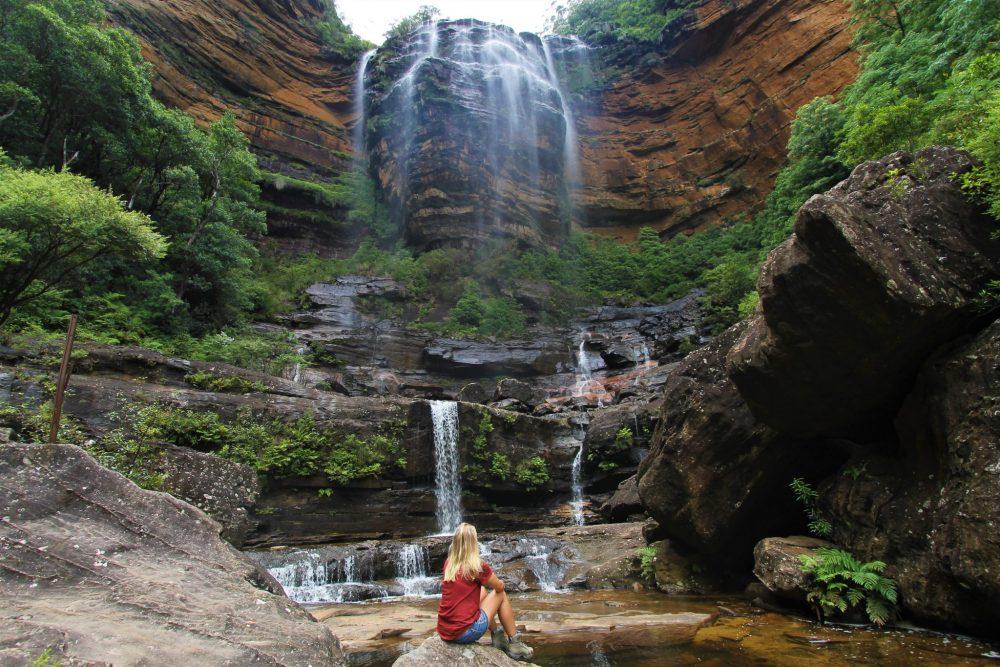 Gefühlswelt - Die Stille unter einem Wasserfall genießen