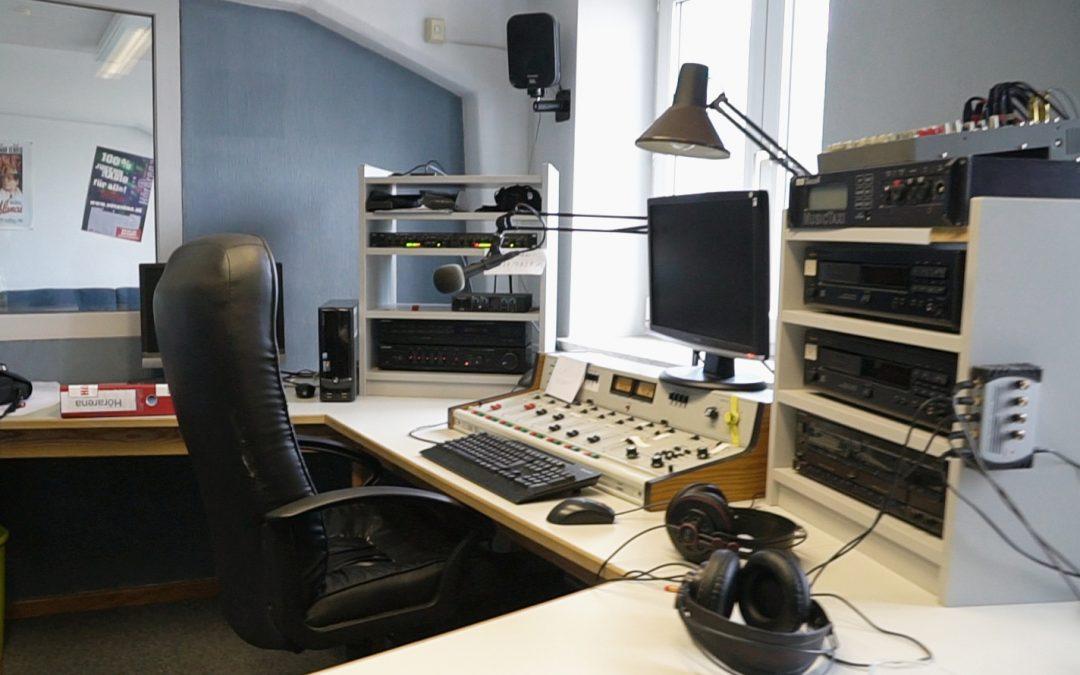 Unser erstes Interview im Radio