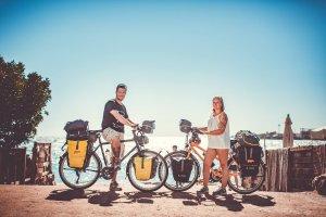 Titelbild Podcast Weltreise mit dem Fahrrad