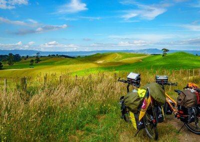 Der Ausblick auf die einzigartige Bergwelt von Neuseeland