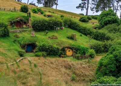Und so sieht dann die Nachbarschaft der Hobbits aus