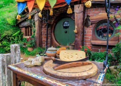 Der Käse war leider wie das Brot auch nur Dekoration