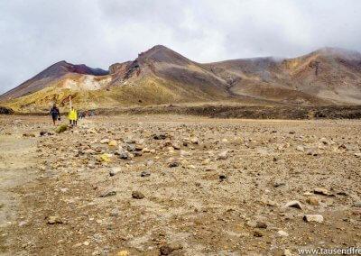 Ein kurzer Blick zurück auf den Red Crater bevor...