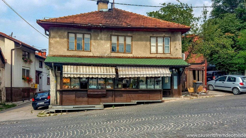 Sarajevo Sehenswürdigkeiten Pizzaladen