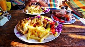Essen in Dahab an der Blue Lagoon