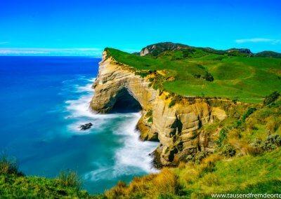 Cape Farewell auf der Südinsel