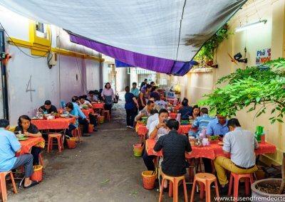 Unser Lieblingsrestaurant in Saigon