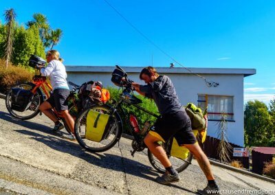 Die steilste Strasse der Welt in Dunedin