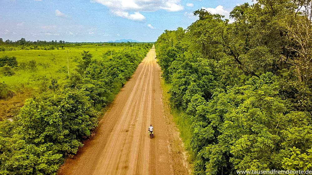 Radreise durch Kambodscha: Abschied nehmen