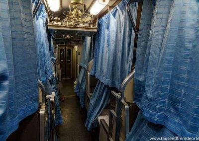 Anreise im Zug nach Koh Tao