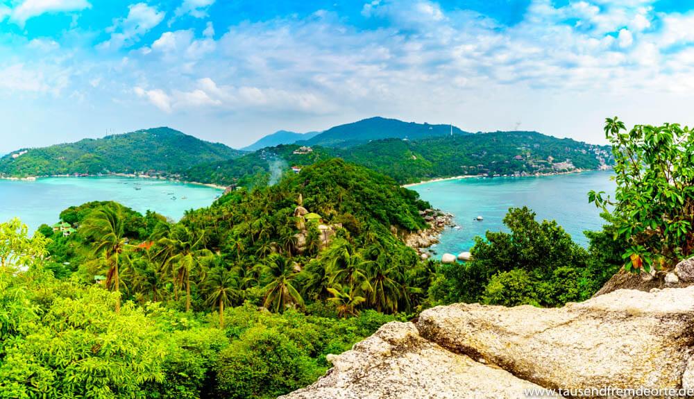 Koh Tao Viewpoints und wie du da hin kommst