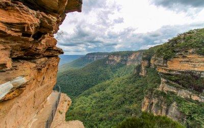 Blue Mountains – eine wunderschöne Landschaft