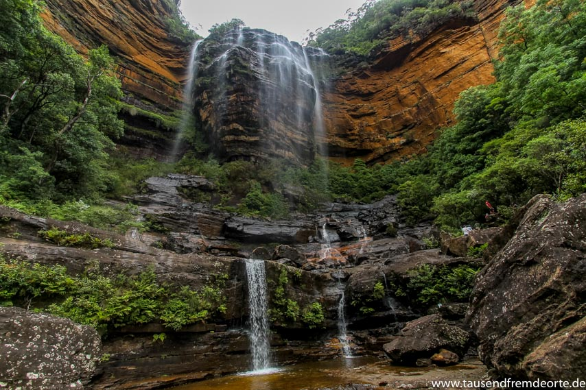 Blue Mountains Wasserfall