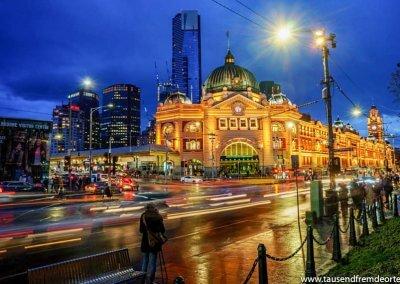 Flinders Station Melbourne Sehenswürdigkeiten