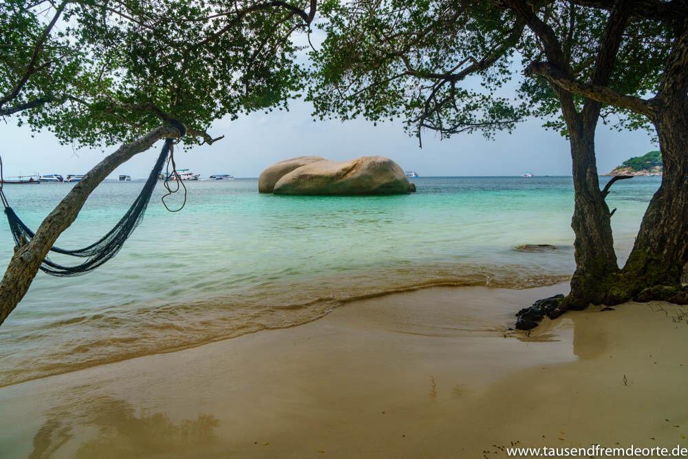 Einzigartige Strande Auf Koh Tao