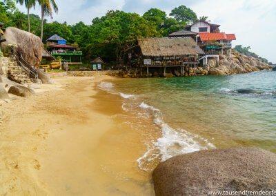 Sai Nuan Beach auf Koh Tao