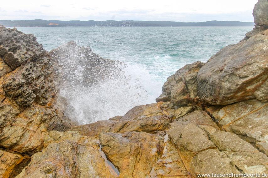 Küste in Australien nahe der Buchan Caves