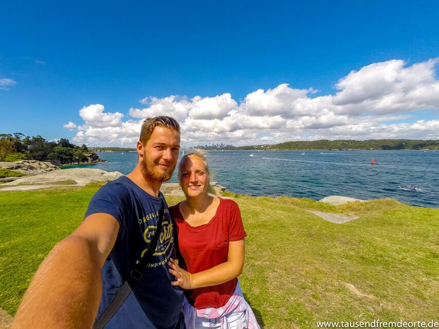 Selfie in Sydney Australien