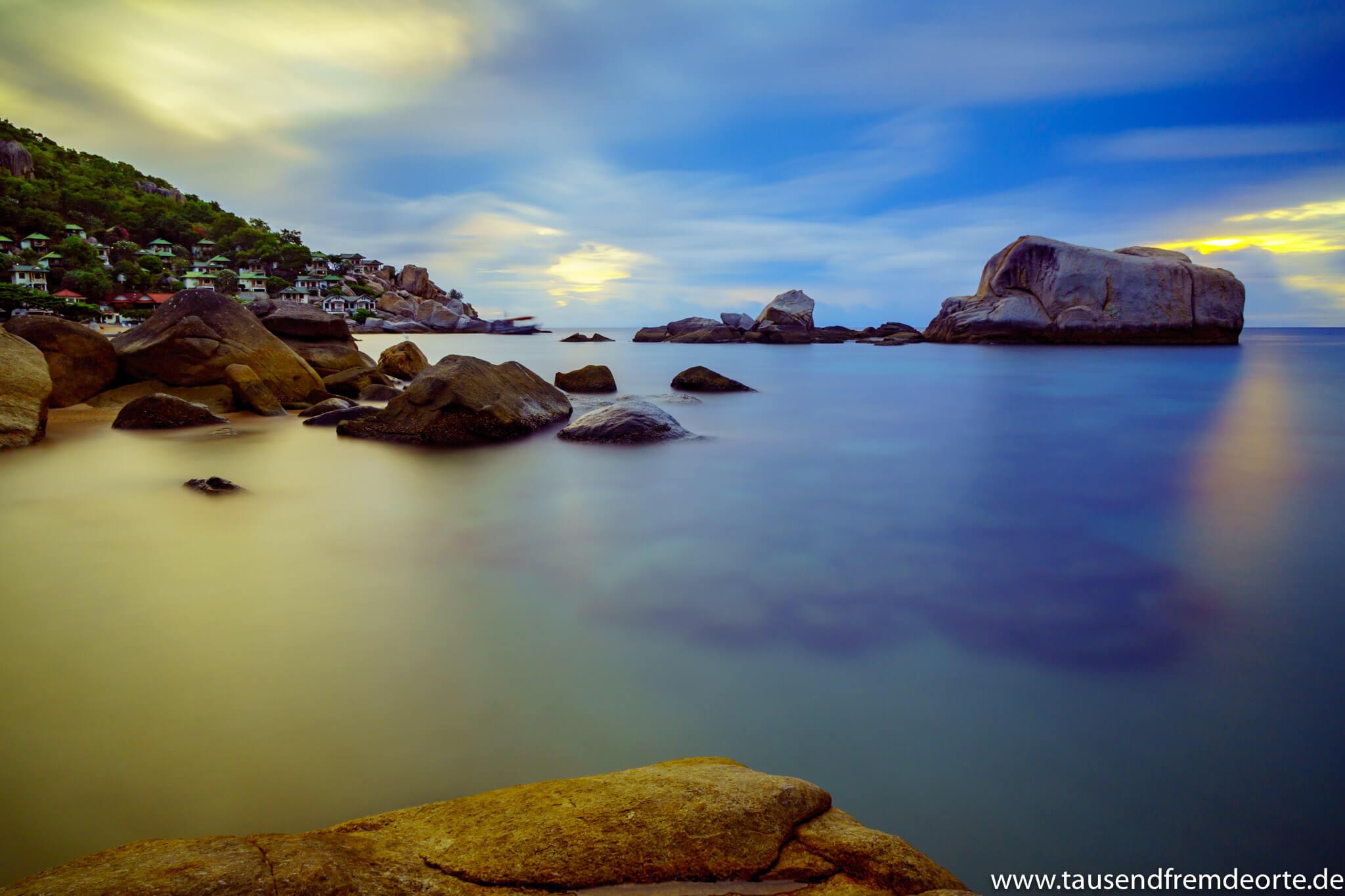 Sonnenaufgang Tanote Bay Koh Tao