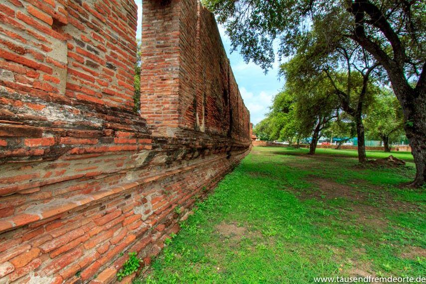 Ruine in Ayutthaya