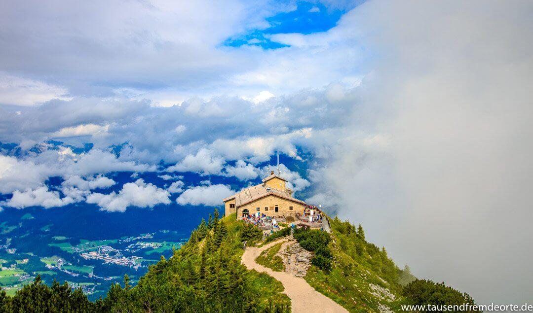 Das Kehlsteinhaus im Berchtesgadener Land